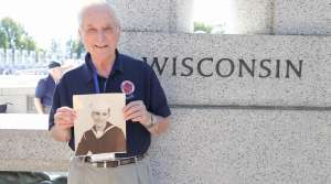 World War II Navy veteran Bill Johnson