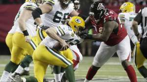 Green Bay Packers and Atlanta Falcons