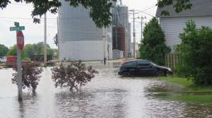 Flooding in Burlington