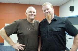 Randy Hughes and Joe Katchever
