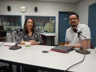 Lisa Lamkins and Seth Boffeli