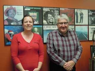 Emily Rozeske and Steve Schneider