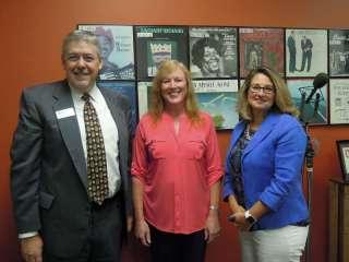 Roger Stanford, Kathleen Olson and Vicki Markussen