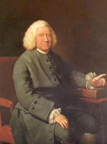 Portrait of Charles Jennens