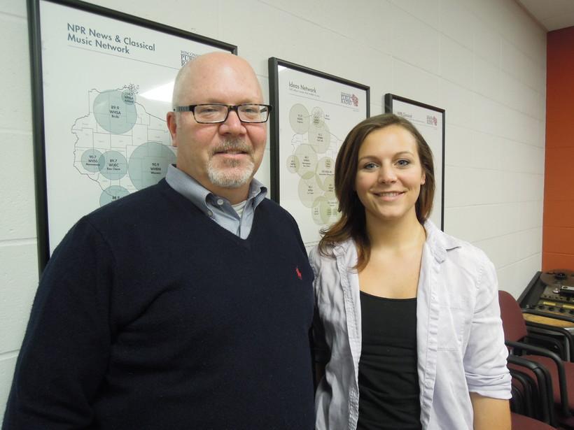 Tom Knothe and Sarah Salewski