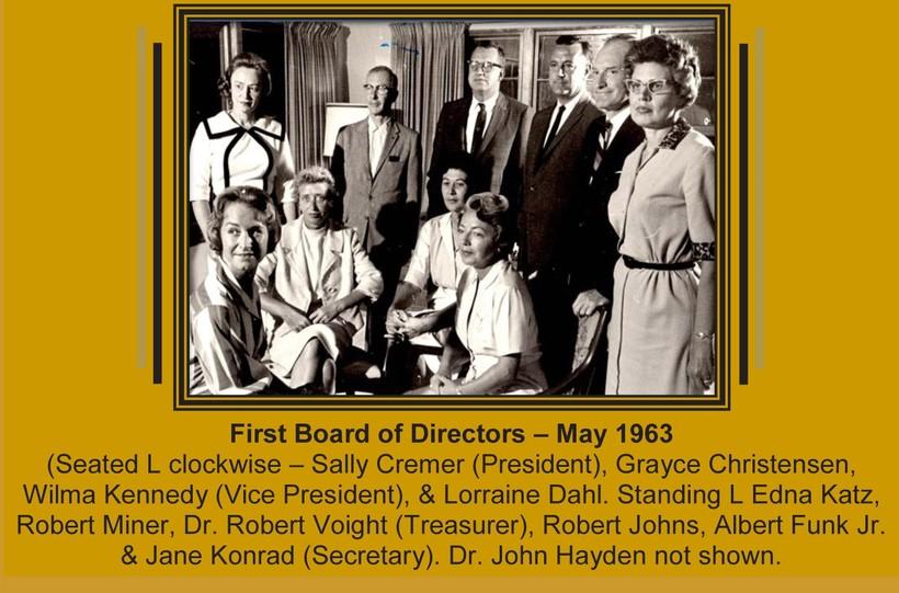 First La Crosse Community Theatre board