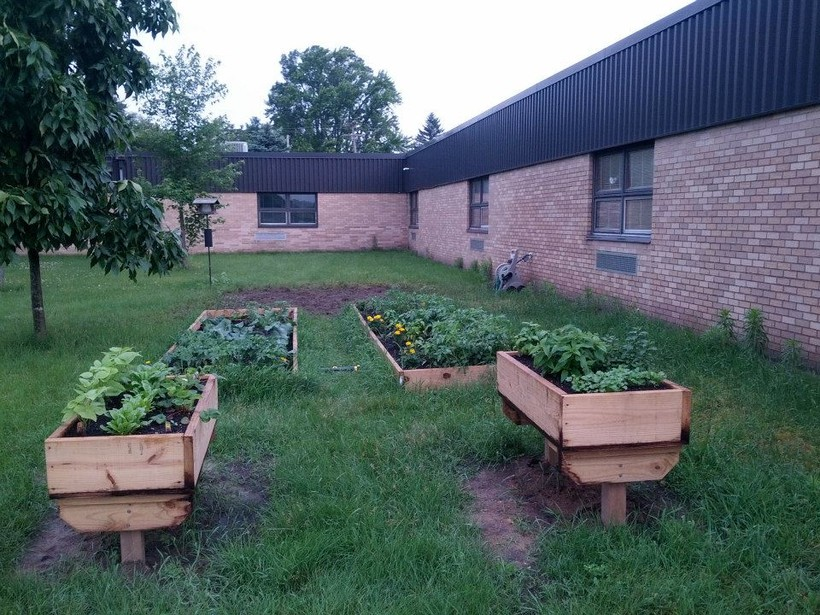 Lemonweir school garden