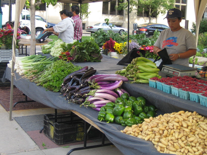 Farmers Market on Madison's Capitol Square