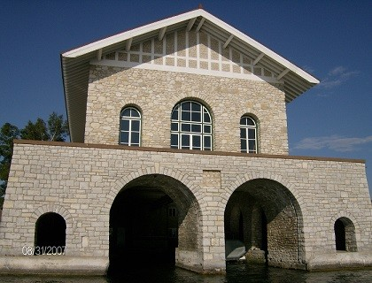 Rock Island Boathouse