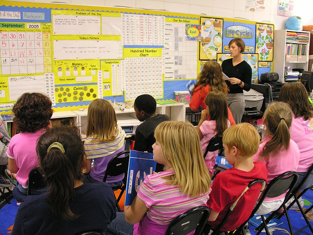 kids in the classroom, Judy Baxter (BY-NC-SA)