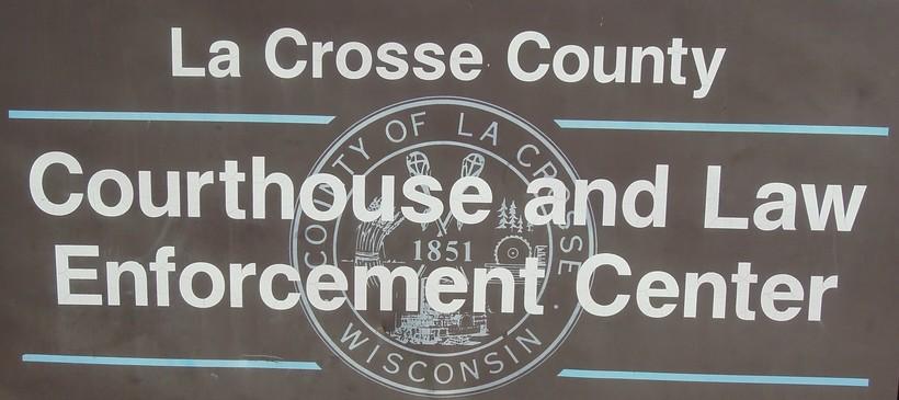 Law Enforcement Center sign