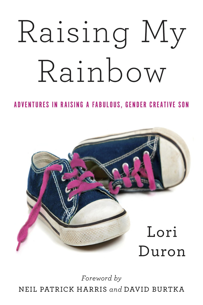 Raising My Rainbow book cover