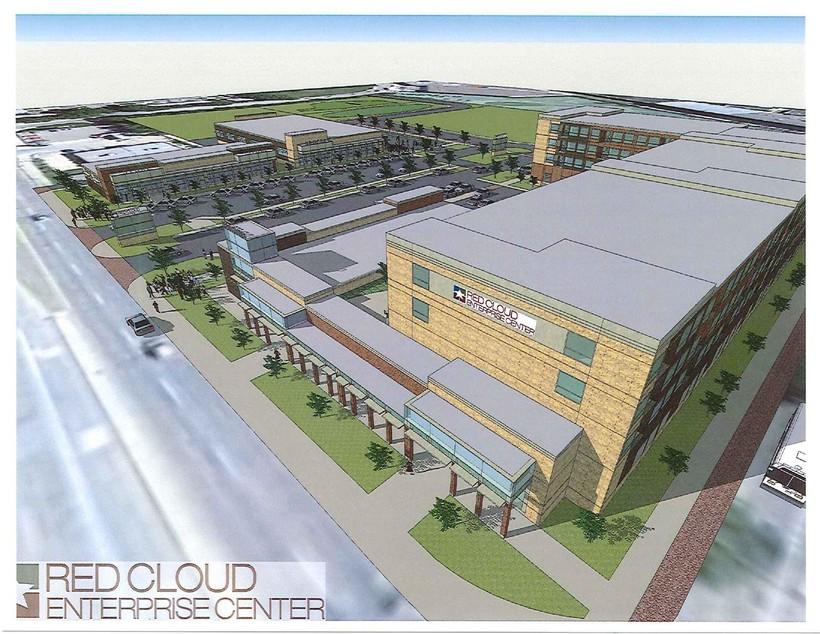 Red Cloud Enterprise Center rendering