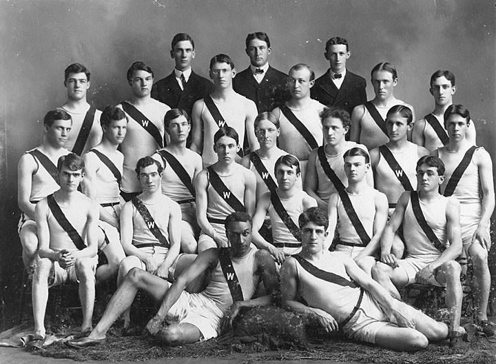 1903 UW track team