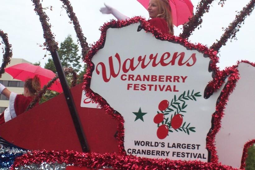 Warrens Cranberry Festival Float