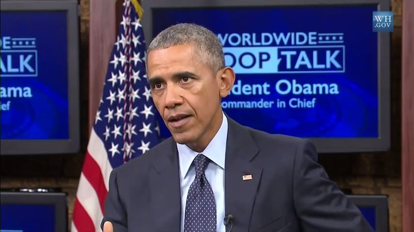 President Obama at Fort Meade