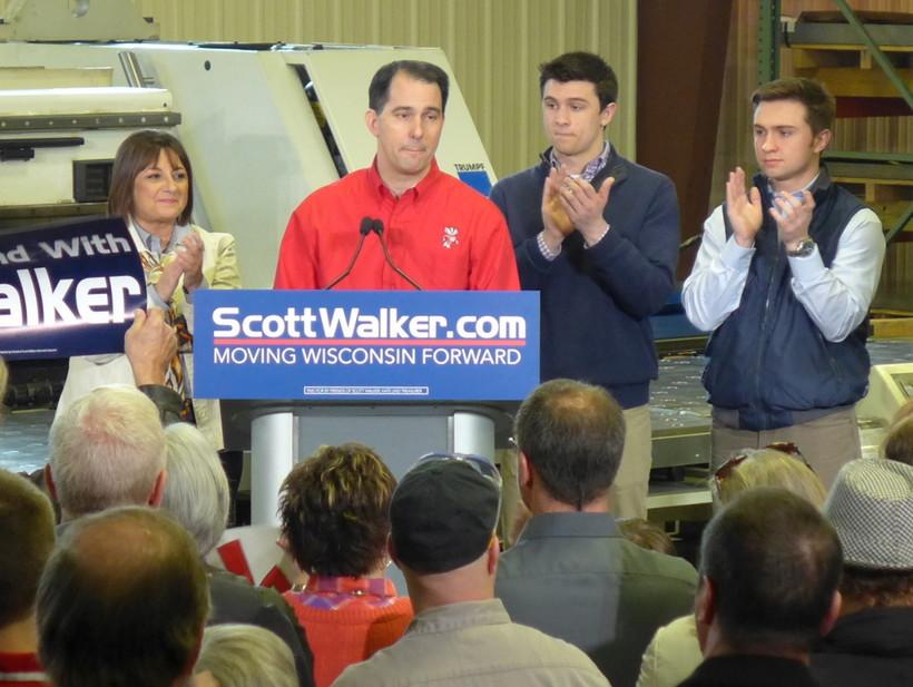 Gov. Scott Walker officially announces his re-election campaign, 4/15/2014