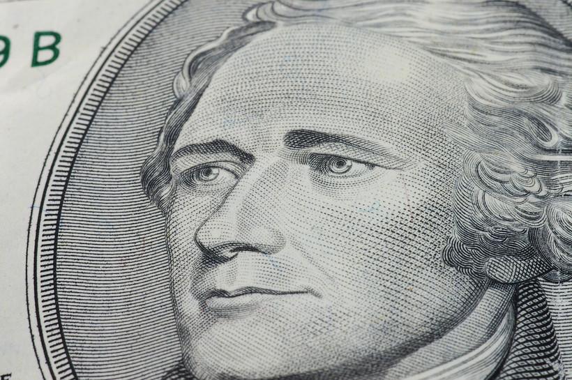 Alexander Hamilton on $10 bill