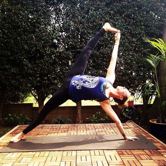 yoga, image courtesy of Meagan McCrary