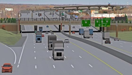 Rendering of U.S. 41 in Green Bay