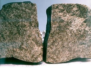 Nakhla meteorite, photo by NASA