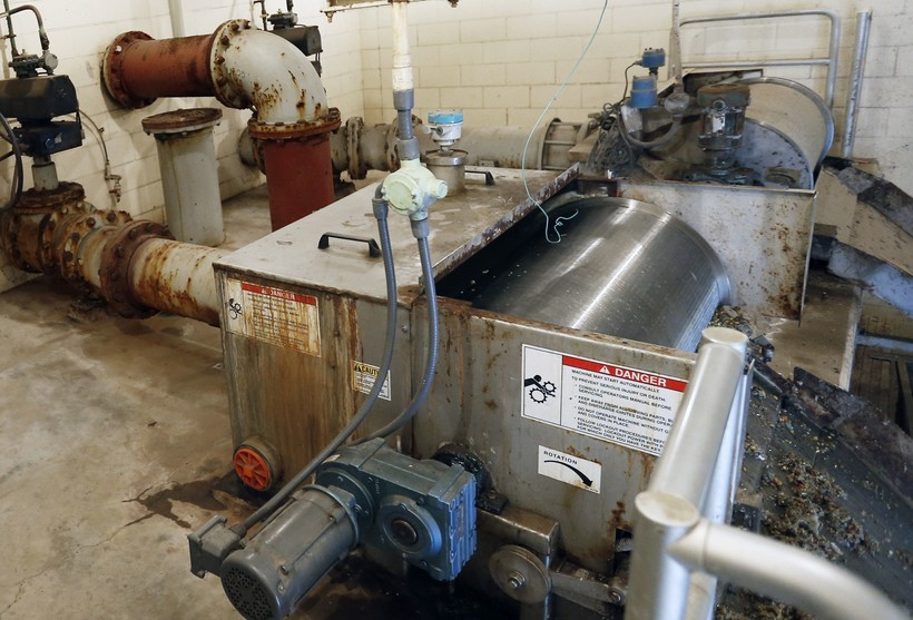 rusty wastewater pipes