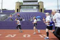 Older adults competing in National Senior Games