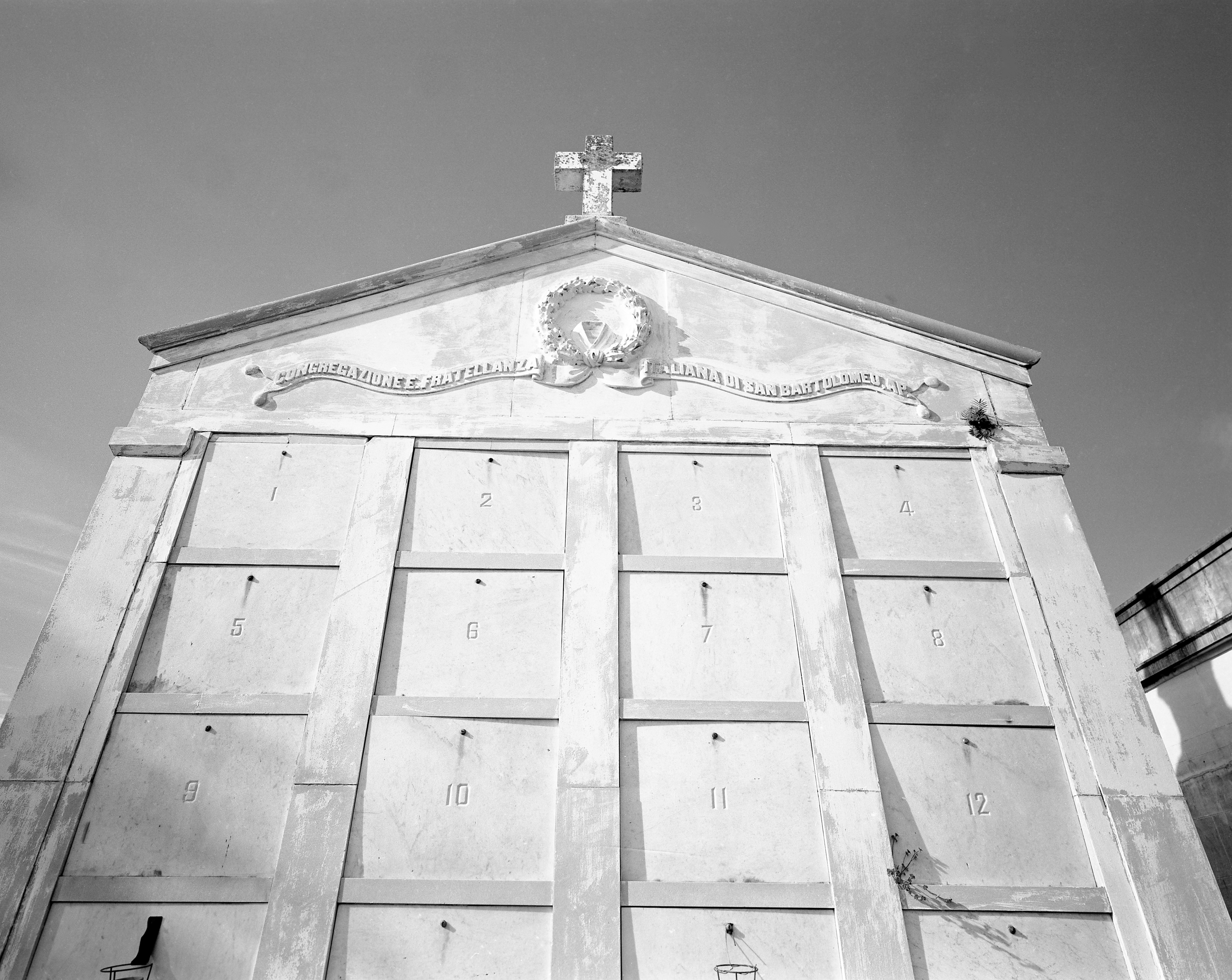 Metairie Cemetery, New Orleans, 1997