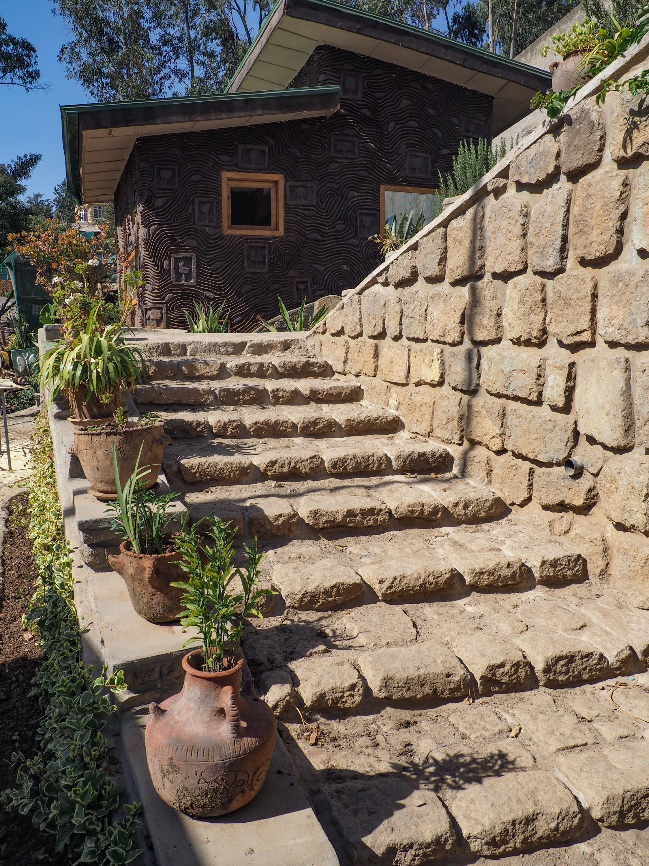 stairs at zoma