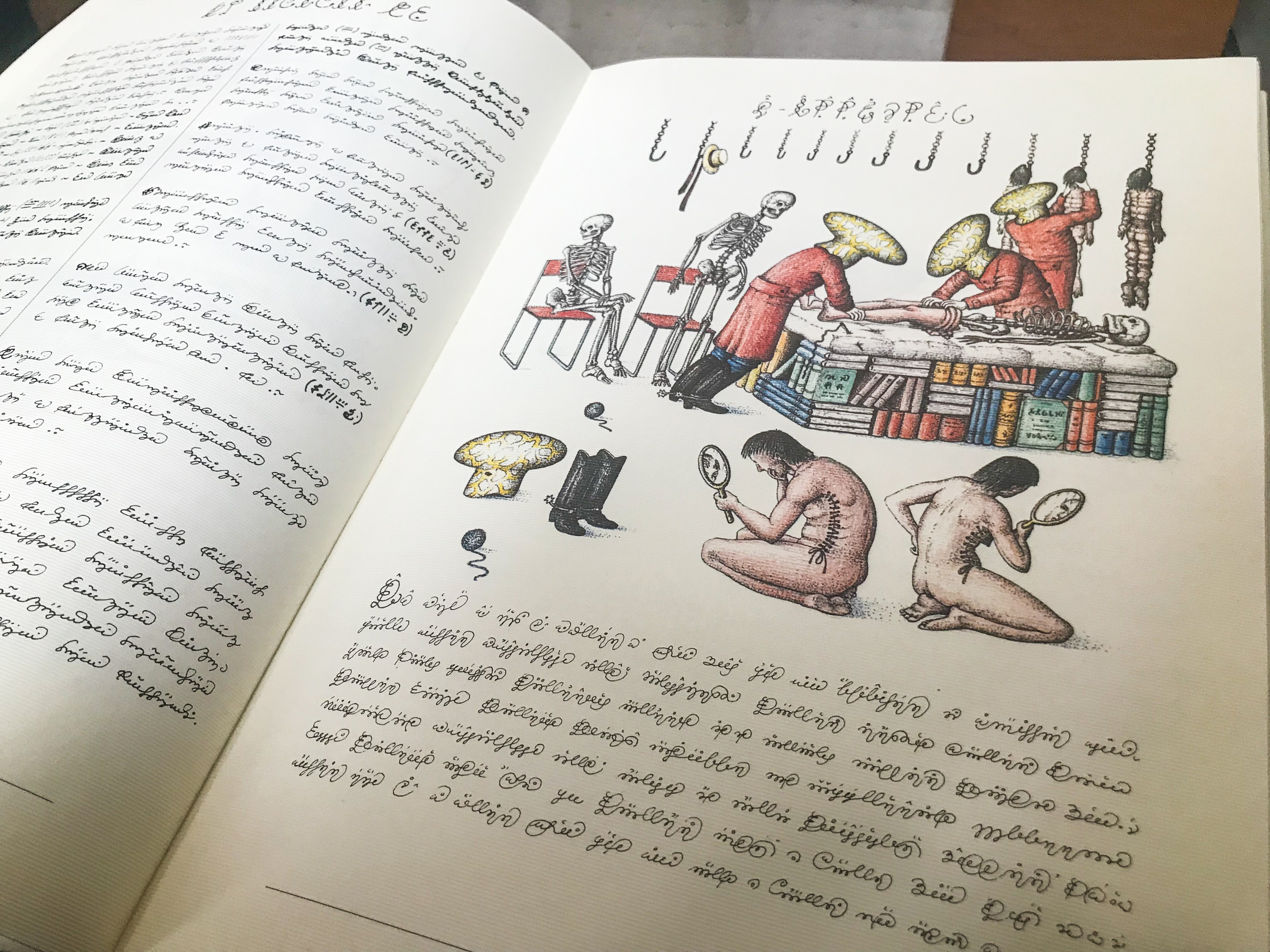 From the Codex Seraphinianus <em>Mark Riechers (TTBOOK)</em>