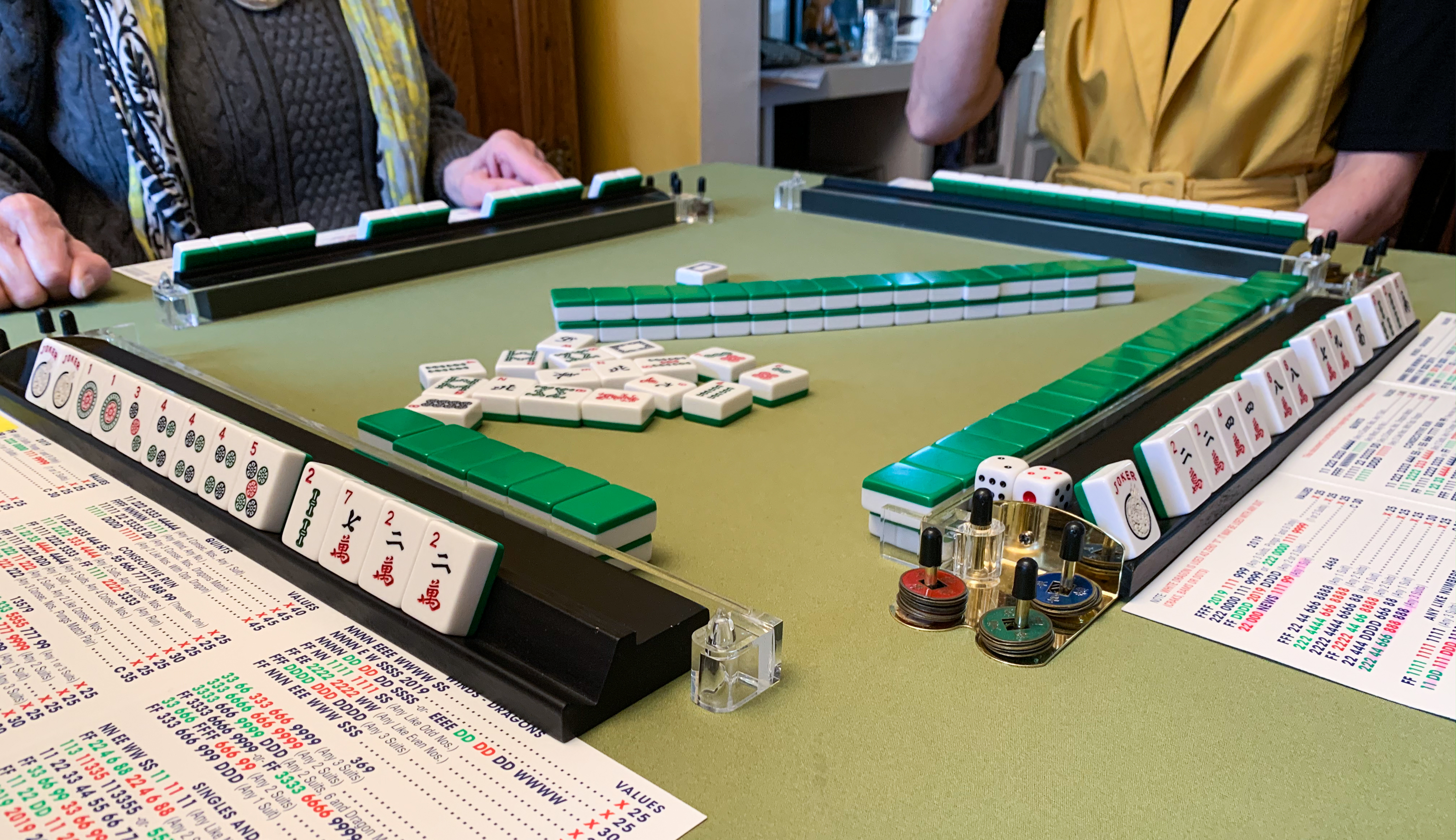 Mahjong game in Madison, Wisconsin.&nbsp;<em>Angelo Bautista (TTBOOK)</em>