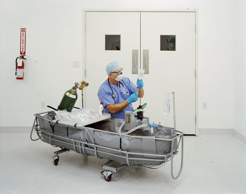 Aaron Drake, Medical Response Director | Alcor Life Extension Foundation, Phoenix, Arizona, USA 2009