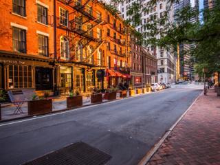 Empty New York streets
