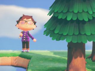 "Mark on own personal ""Walden Pond"" in Animal Crossing"