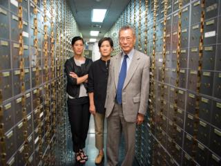 Vera Sung, Jill Sung, and Thomas Sung from ABACUS.