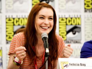 Felicia Day at Comic Con 2011