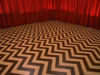 striped floor