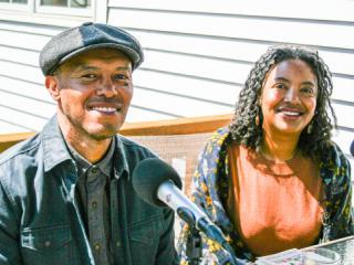 Amaud Johnson and Cherene Sherrard.