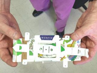 folding microscope