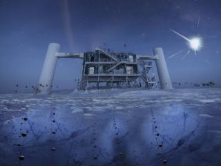 The IceCube Lab at the South Pole