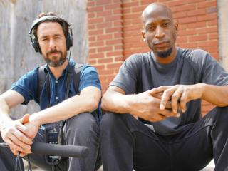 Left to Right: Aaron Henkin, Wendel Patrick (WYPR)