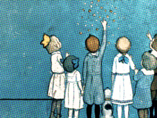 children reaching for the stars