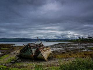 ruined boats