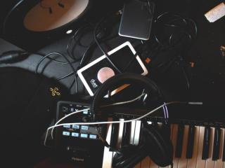 Making music online and off