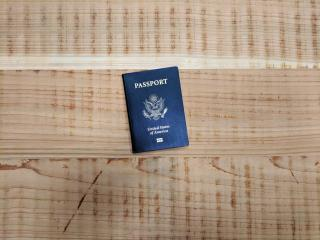 A US passport.