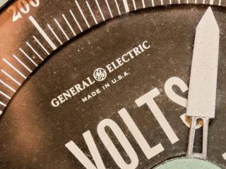 General Electric dial