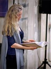 Rebecca Solnit reading book