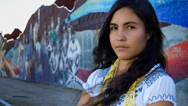 "Student activist and Raza studies student Pricila from the film ""Precious Knowledge."""