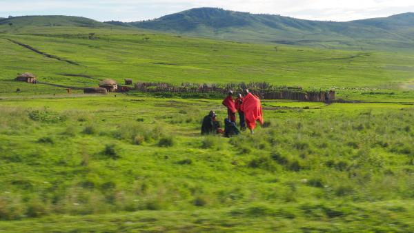 The Maasai have lived alongside the Serengeti wildlife for generations.