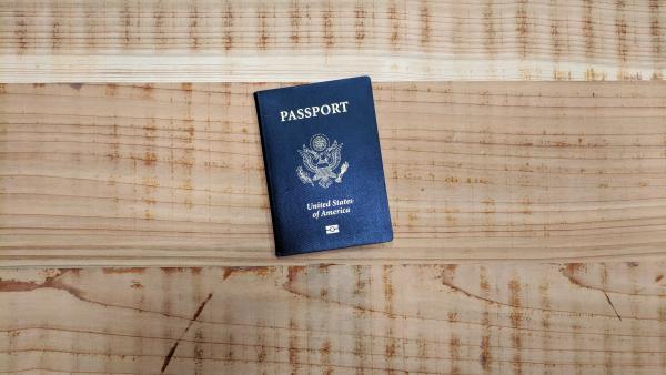 A US passport.